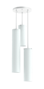 CYLINDRO CHANDELIER - 3X 2700 LM