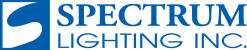 Spectrum Lighting Inc Spectrum Lighting is committed to manufacturing high-quality, attractive and functional architectural lighting products that combine design integrity, functionality and energy efficiency.